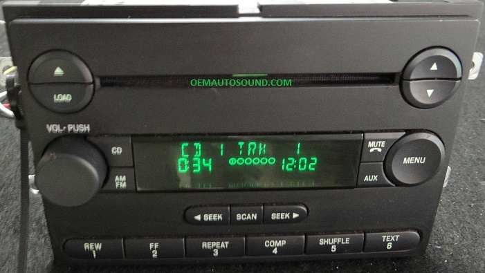 Ford F150 Mustang Cd6 Changer Radio 4l3t18c815amrhoemautosound: 2007 Ford Fusion Factory Satellite Radio At Gmaili.net