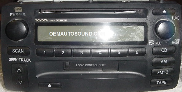 86120 02280 L toyota factory radio cd player head unit jbl repair amplifier  at crackthecode.co