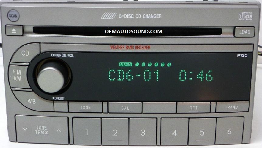 Oem Auto Sound - Factory Radio Subaru Forester 2003-2006 ...