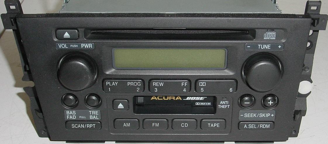 Acura TL Factory Radio CD Player Original SKAM - Acura tl radio