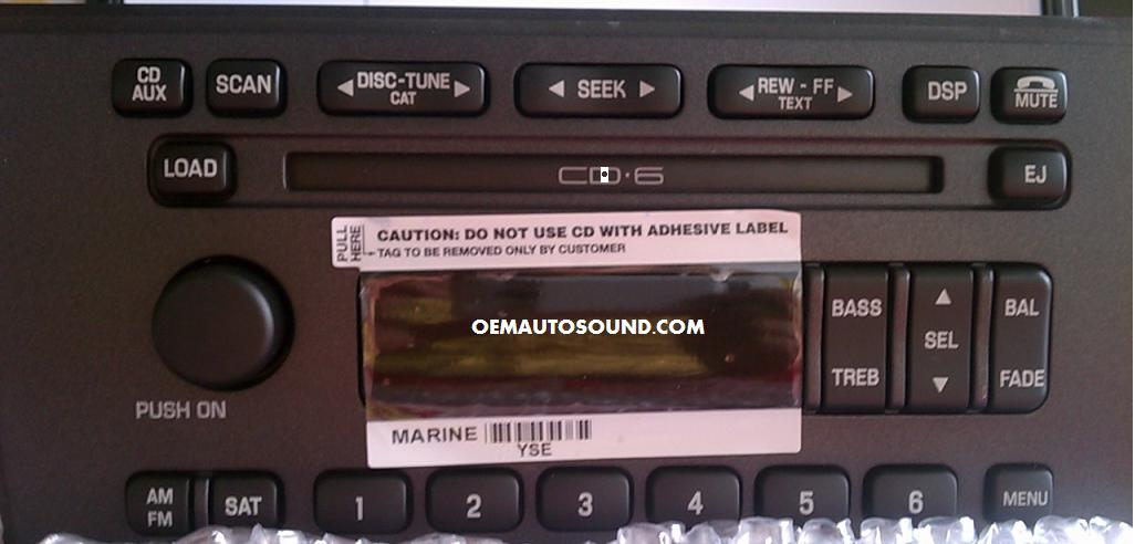 Ford factory radios replacement CD6 changer cd player repairs