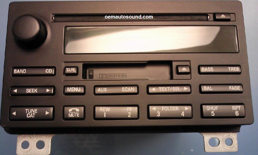 Factory Radio Ford Expedition 5l1t18c868acrhoemautosound: Ford Expedition Radios At Gmaili.net