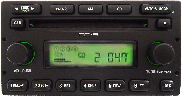 2005 Ford Escape For Sale >> Ford Mercury factory radio ford ranger cd changer 5L8T-18C815-EC