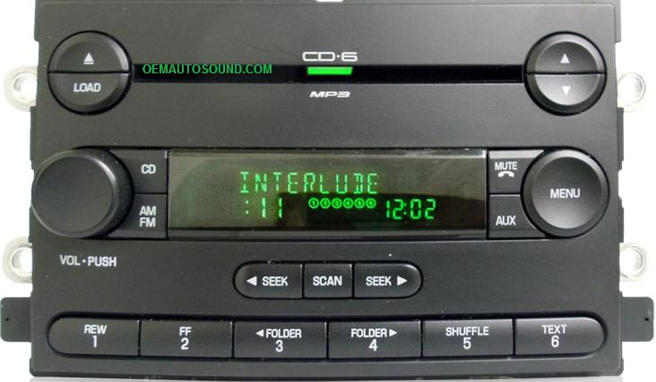 Ford Five Hundred Freestyle Montego 6f9t 18c815 Ac Radio