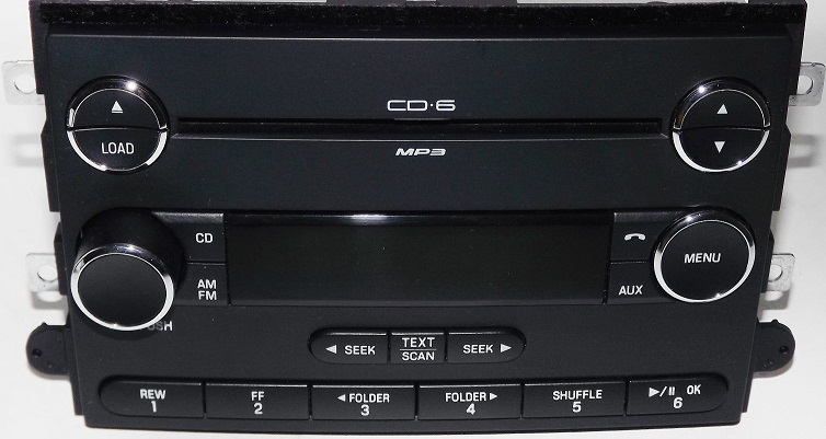 Radio Ford Mercury 20062009 6cd Changer 8e5t18c815agrhoemautosound: Ford Fusion 2006 Radio Aux Input At Gmaili.net