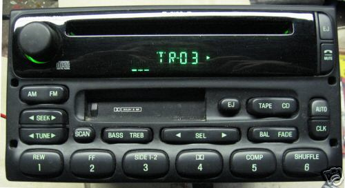 Ford Explorer Expediton Radio Cd Player F87f 18c868