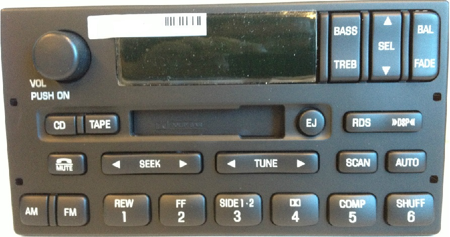 99 00 01 02 Ford Expedition F 150 Am Fm Cette Radio Stereo Fits Most Vehicles From 1999 To 2002 6 Months Warranty