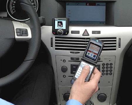 bluetooth car radio kit