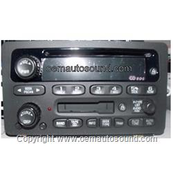 Factory Radio GM 2000-2005 Cassette & CD Player 10317994