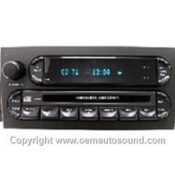 Factory Radio Chrysler Pacifica 2004-2008 Cd,Mp3 Player P05094564AC
