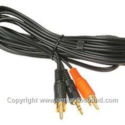 Rca Jack to 3.5MM Stereo plug aux input