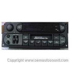 Factory radio Chrysler/Dodge/Jeep 2002-2009 Am/Fm Cass player P05064335-AI