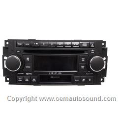 Chrysler Dodge 6-disc mp3 player P05064032AL