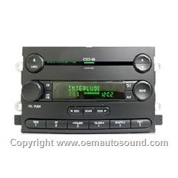 Factory Radio Ford Cd Changer 6F9T-18C815-AC