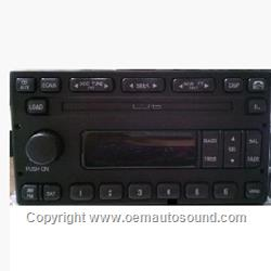 Factory Radio Ford Am/Fm 6-cd in dash VP4DBF-18C815-AC