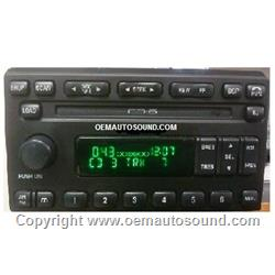 Ford Expedition radio 6-disc in dash 2003 2L1F-18C815-CF