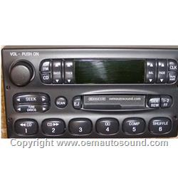 OEM FACTORY RADIO FORD MERCURY NISSAN QUEST RADIO XF2F-19B132-BC