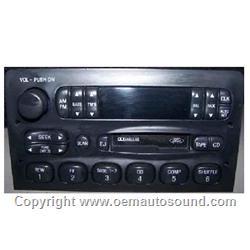 Ford Lincoln Radio 1995 1999 F75f 19b165 Da