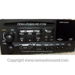Delco Monsoon 1998-2001 Radio Cd Player 10306067