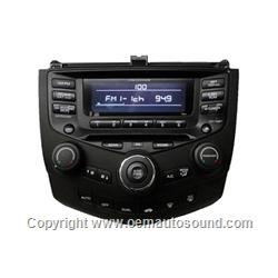 Factory Radio Honda Accord 2004-2007  39175-SDA-L110