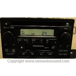 Honda 1998-2002 CD Player, iPod Control 39101-S84-A510