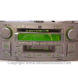 Toyota Solara 2003-2006 cd Tape Radio JBL  86120-AA120