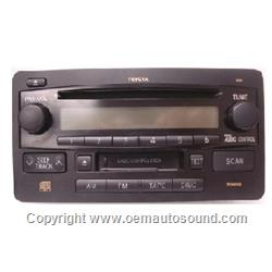 Toyota Tundra 2003 to 2005 cd player radio 86120-0C081