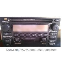 Radio TOYOTA 1997-2004 CD Player 86120-AD040