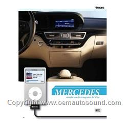 Mercedes Benz iPod Adapter car kit Integration fiber optic  GW51MO2