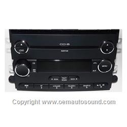 2006-2009 Ford, Mercury AM FM 6 Disc mp3 CD Radio 8E5T-18C815-AG