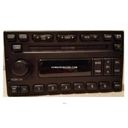 Factory Radio 2003-2005 Ford Mercury 3C3t-18C815-AC