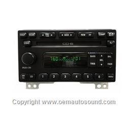 Radio Ford,Mercury 2001-2004 6-disc changer 1L2F-18C815-AE