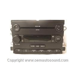 Radio Ford Mercury 2007-2004 6-disc changer MP3 7E5T-18C815-BB