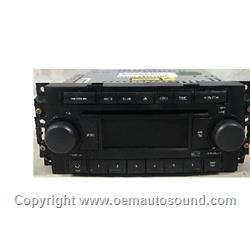 Chrysler Dodge Jeep Radio P05064173AF REF