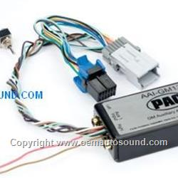 Auxauxiliary input interface for Gmc Chevrolet 2002 to 2009