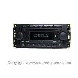 Chrysler jeep CD6 RDS Radio