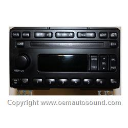 Factory Radio 2001-2005 Ford Mercury   3L2T-18C815-FA