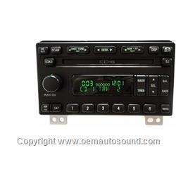 Ford Expedition Explorer CD Radio 4L2T-18C815-CE