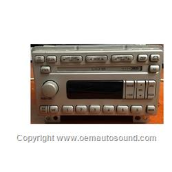 2004-2006 Lincoln Navigator Factory Radio 4L7T-18C815-AG