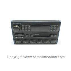 1995-1997 Ford Crown Victoria Factory Radio F7AF-19B132-AA