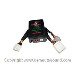 HonAux Honda Auxiliary Audio Input Adapter Aux Audio - 2004 acura tsx aux input