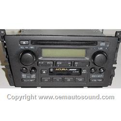 Acura TL oem radio cassette CD player 39101-S0K-A110-M1