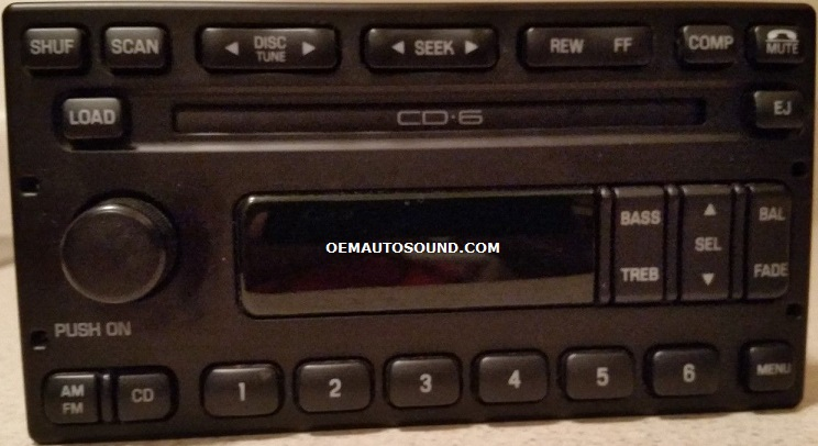 Ford Radio Cd6 Cd Changer 3c3t