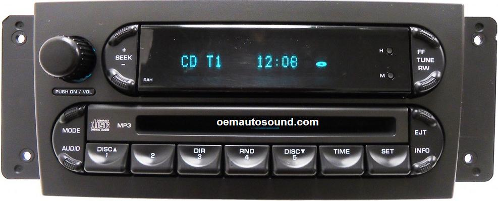 Ford Order Tracking >> P05094564AC chrysler pacifica radio cd player repair