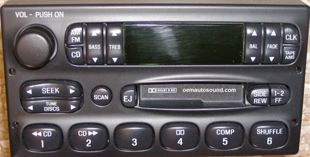 Nissan Quest XF2F-19B132-BC factory radio villager
