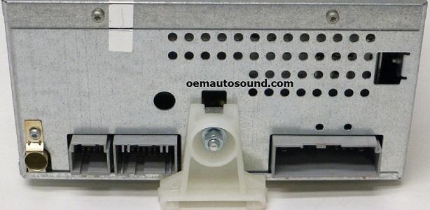 ford escape mariner factory cd radio 6l8t 18c815. Black Bedroom Furniture Sets. Home Design Ideas