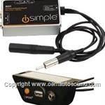 FM Universal aux input modulator hard wired USB