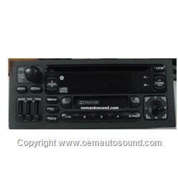 Factory Radio Chrysler/Dodge 1995 to 1999 Cassette and Cd Player P04858525
