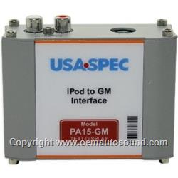 PA15-GM Chevrolet Chevy IPod Interface 2000-2008