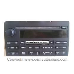 Factory Ford Expedition radio Mp3 player 6L1T-18C869-AA